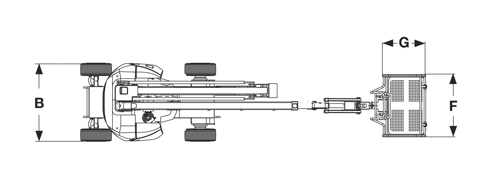 Piattaforma aerea articolata elettrica AE13_2