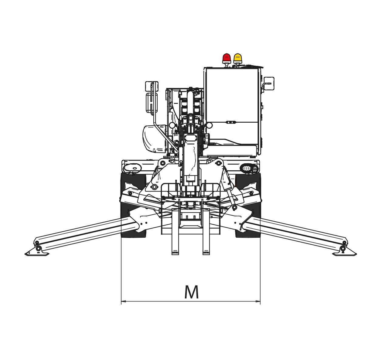 Sollevatore telescopico rotante CT25R_PAG68_5