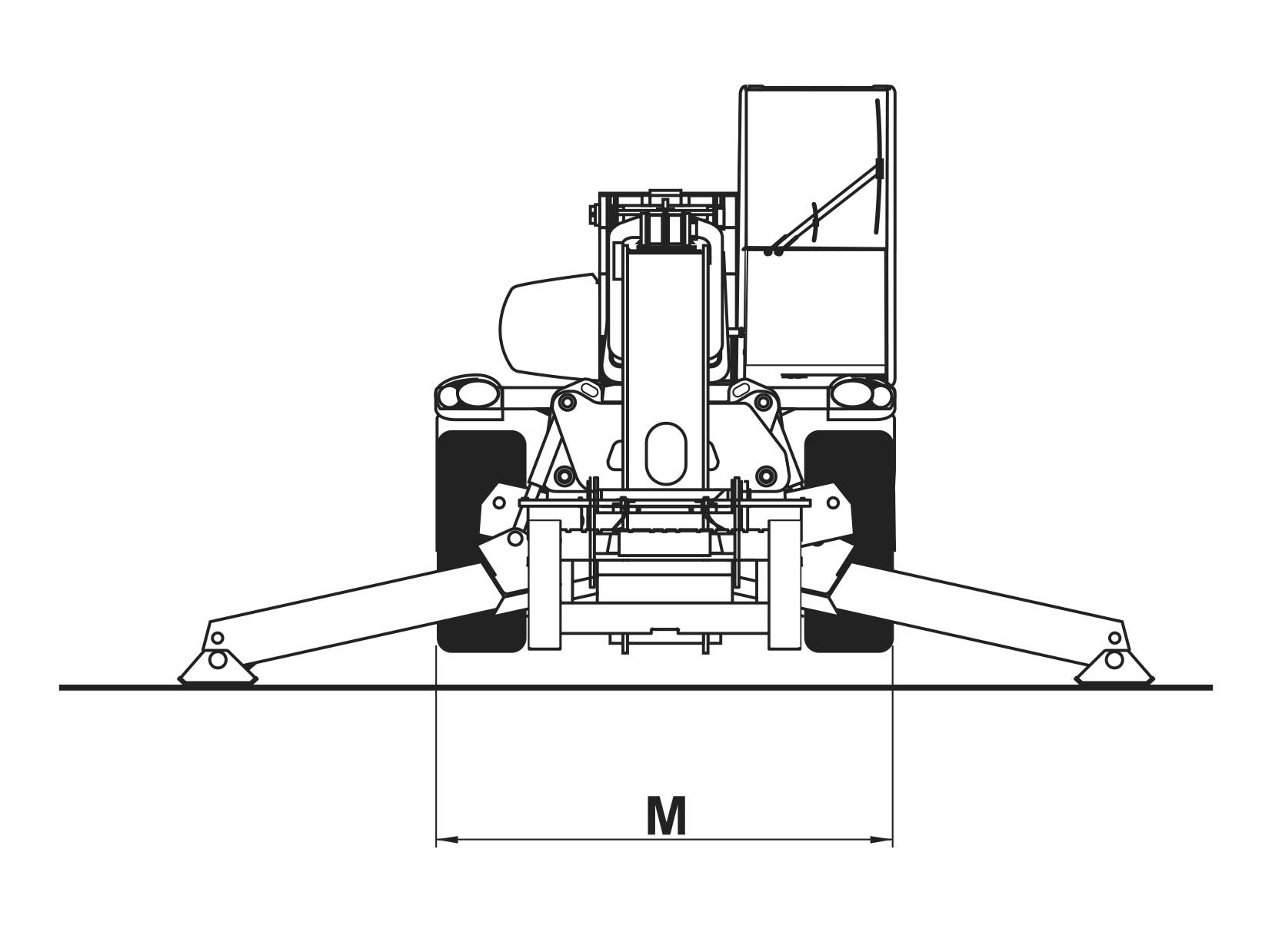 Sollevatori Telescopici Rotanti CT25R