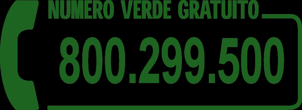 Numero verde Sticar